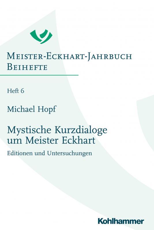 Cover-Bild Mystische Kurzdialoge um Meister Eckhart