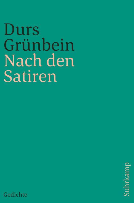 Cover-Bild Nach den Satiren