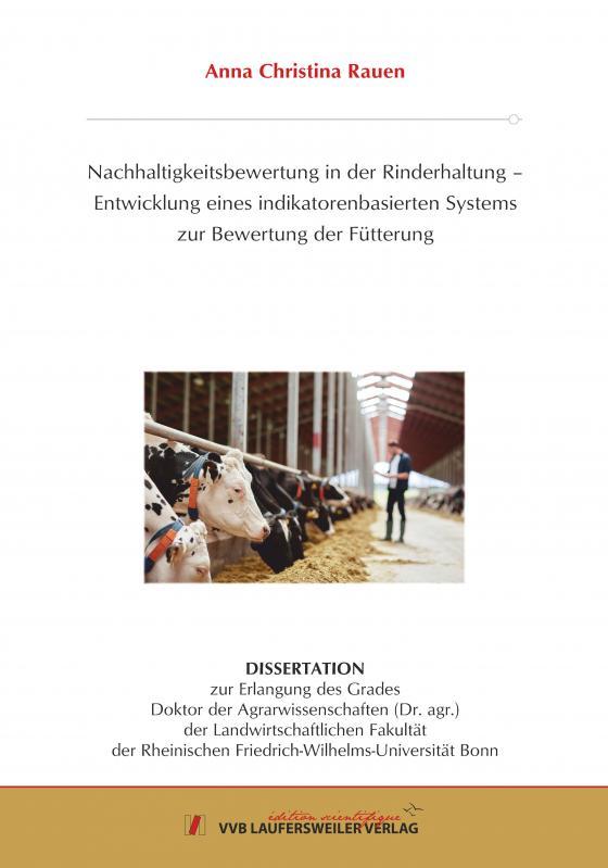 Cover-Bild Nachhaltigkeitsbewertung in der Rinderhaltung –