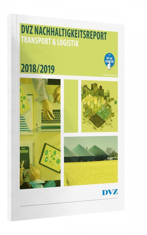Cover-Bild Nachhaltigkeitsreport Transport & Logistik 2018/2019