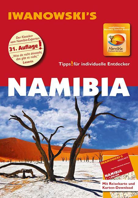 Cover-Bild Namibia - Reiseführer von Iwanowski