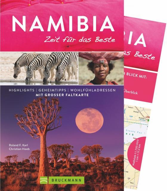 Cover-Bild Namibia – Zeit für das Beste