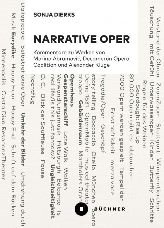 Cover-Bild Narrative Oper