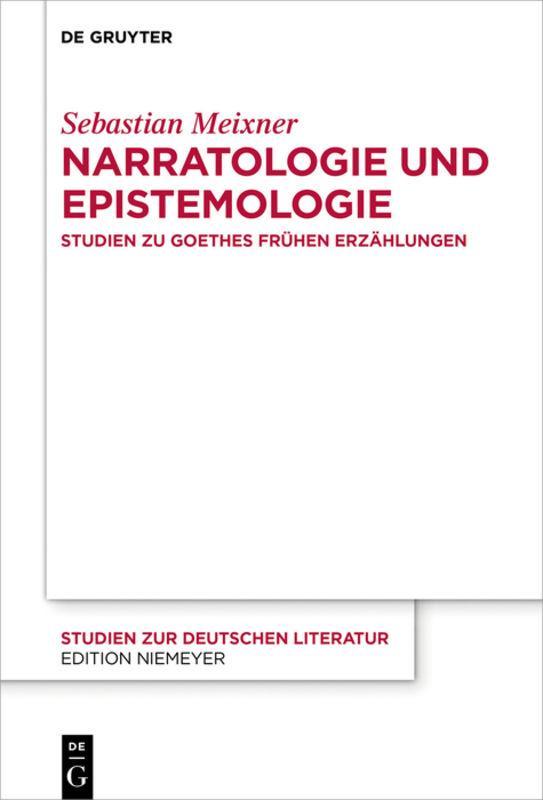 Cover-Bild Narratologie und Epistemologie