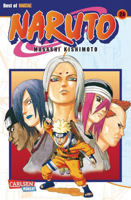 Cover-Bild Naruto 24