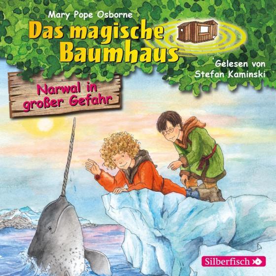Cover-Bild Narwal in großer Gefahr (Das magische Baumhaus 57)