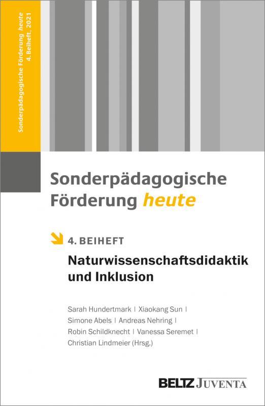 Cover-Bild Naturwissenschaftsdidaktik und Inklusion