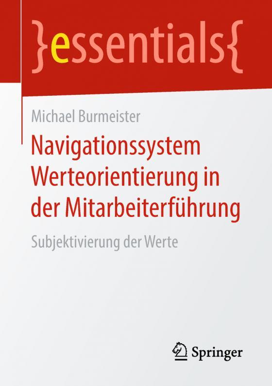 Cover-Bild Navigationssystem Werteorientierung in der Mitarbeiterführung