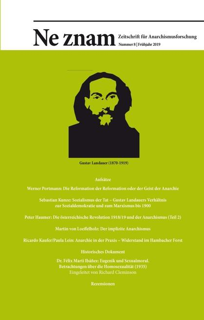 Cover-Bild Ne znam – Zeitschrift für Anarchismusforschung