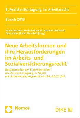 Cover-Bild Neue Arbeitsformen und ihre Herausforderungen im Arbeits- und Sozialversicherungsrecht