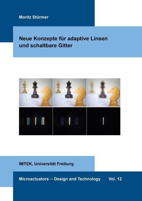 Cover-Bild Neue Konzepte für adaptive Linsen und schaltbare Gitter