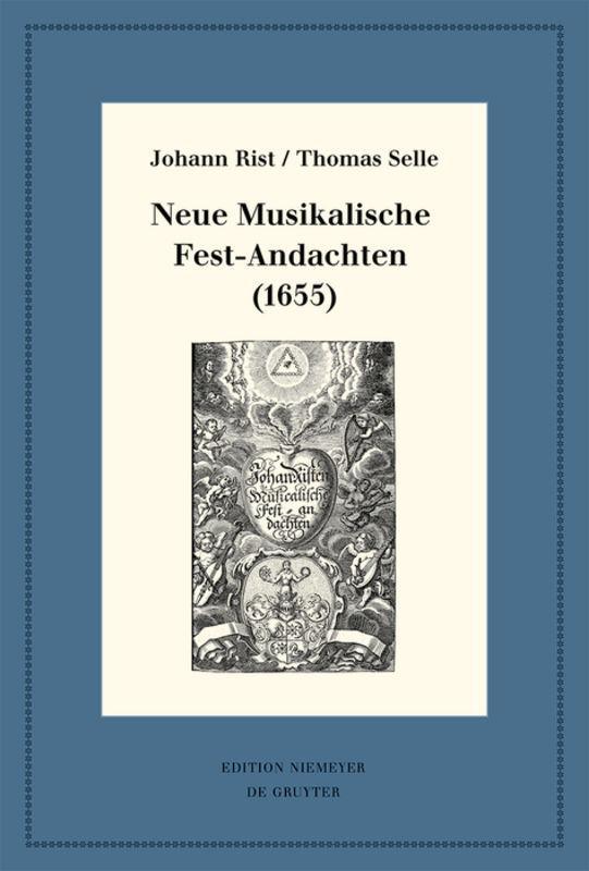 Cover-Bild Neue Musikalische Fest-Andachten (1655)