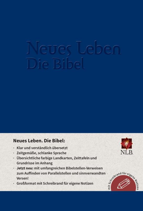 Cover-Bild Neues Leben. Die Bibel - mit Parallelstellen, Schreibrand und Registerstanzung