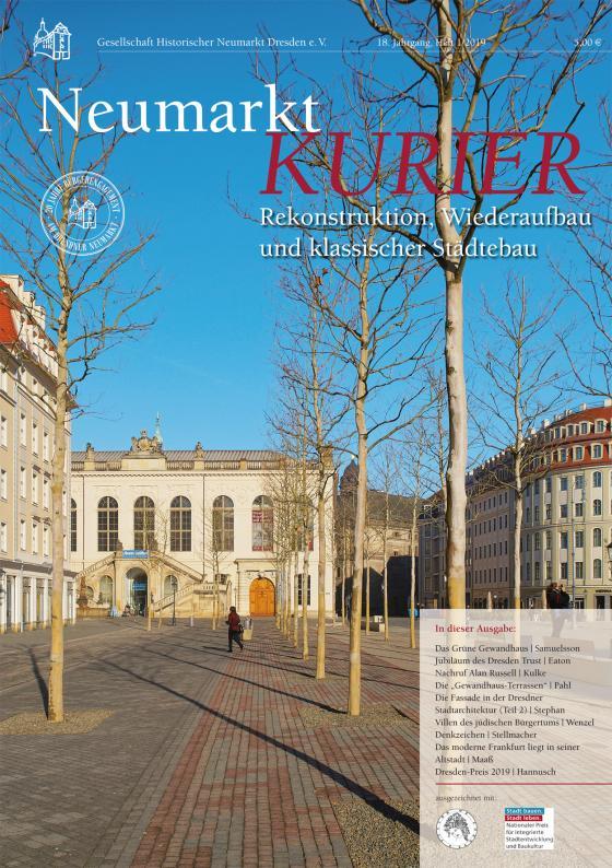 Cover-Bild Neumarkt-Kurier Rekonstruktion, Wiederaufbau und klassischer Städtbau