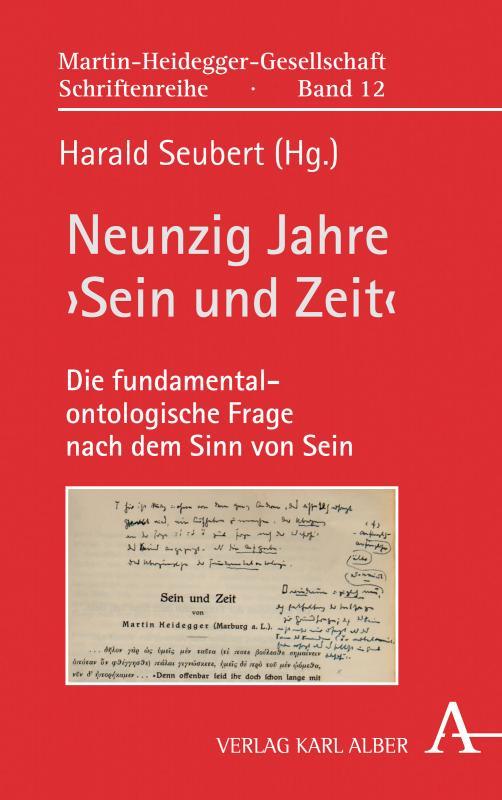 Cover-Bild Neunzig Jahre 'Sein und Zeit'