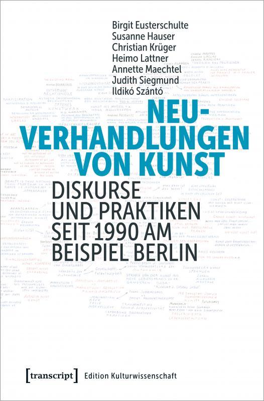 Cover-Bild Neuverhandlungen von Kunst
