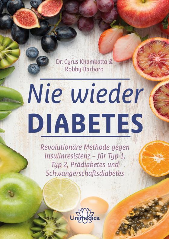 Cover-Bild Nie wieder Diabetes