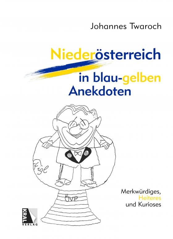 Cover-Bild Niederösterreich in blau-gelben Anekdoten