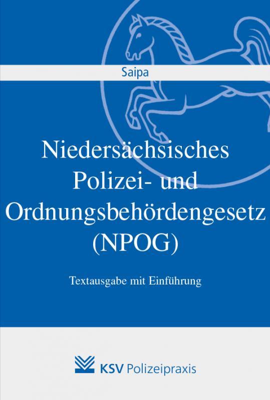 Cover-Bild Niedersächsisches Polizei- und Ordnungsbehördengesetz (NPOG)