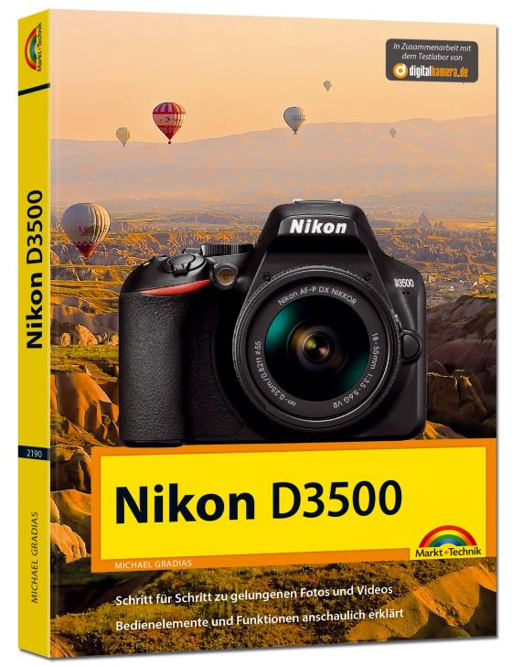 Cover-Bild Nikon D3500 - Das Handbuch zur Kamera