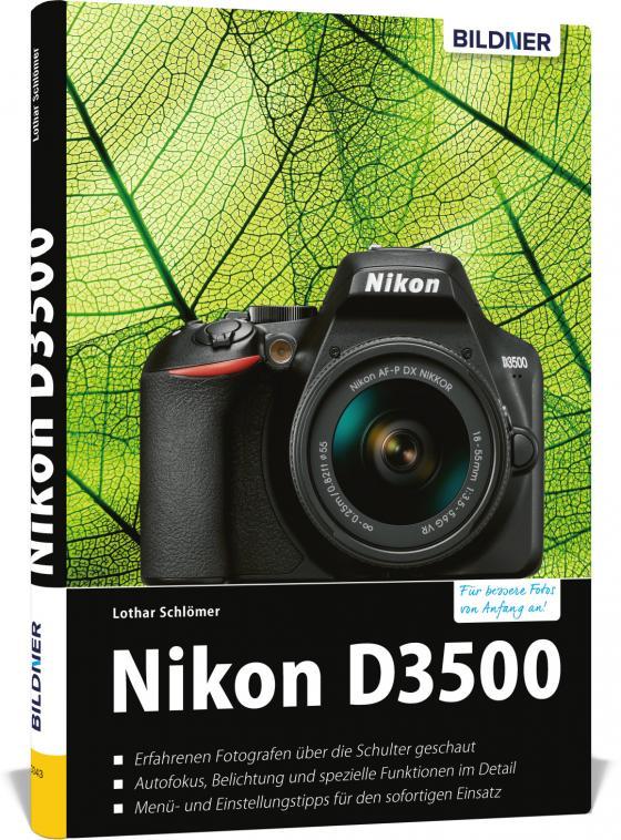 Cover-Bild Nikon D3500 - Für bessere Fotos von Anfang an