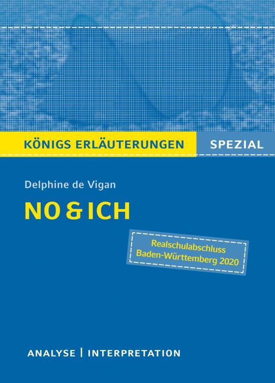 Cover-Bild No & ich von Delphine de Vigan