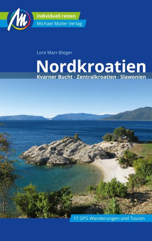 Cover-Bild Nordkroatien Reiseführer Michael Müller Verlag