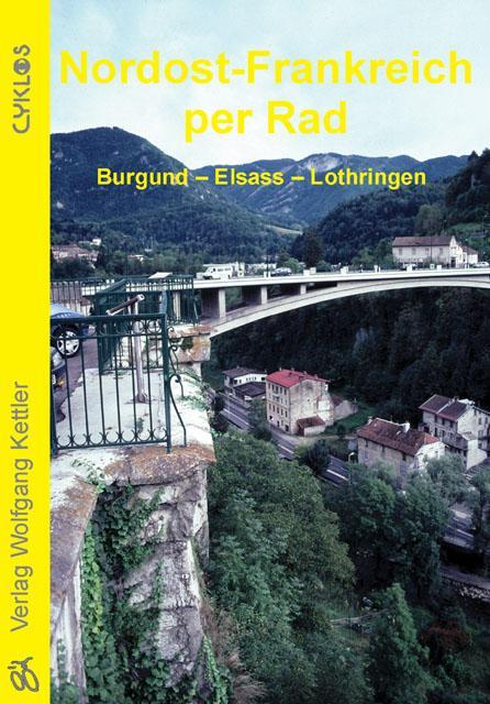 Cover-Bild Nordost-Frankreich per Rad
