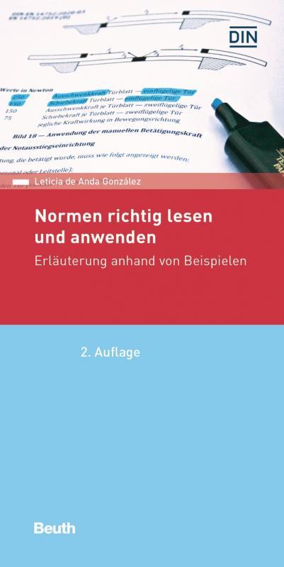 Cover-Bild Normen richtig lesen und anwenden