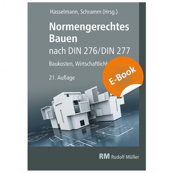 Cover-Bild Normengerechtes Bauen nach DIN 276/DIN 277 - E-Book (PDF)