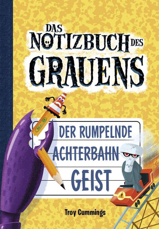 Cover-Bild Notizbuch des Grauens 9