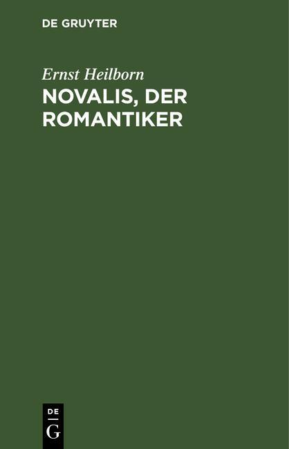 Cover-Bild Novalis, der Romantiker
