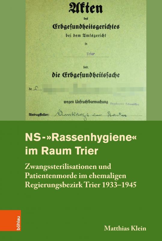 "Cover-Bild NS-""Rassenhygiene"" im Raum Trier"