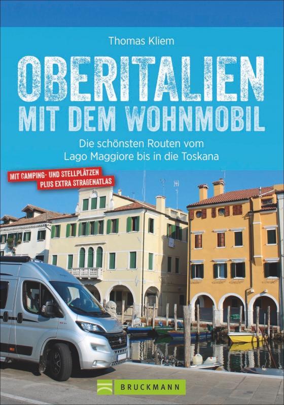 Cover-Bild Oberitalien mit dem Wohnmobil