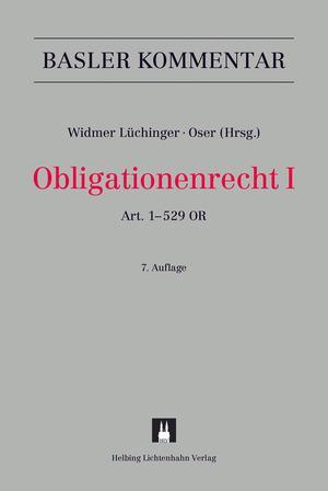 Cover-Bild Obligationenrecht I