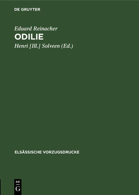 Cover-Bild Odilie