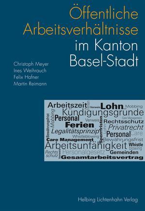 Cover-Bild Öffentliche Arbeitsverhältnisse im Kanton Basel-Stadt