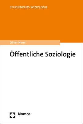 Cover-Bild Öffentliche Soziologie