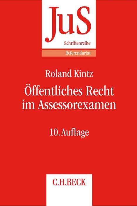 Cover-Bild Öffentliches Recht im Assessorexamen