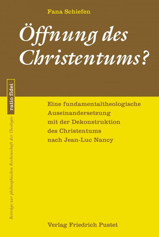 Cover-Bild Öffnung des Christentums?