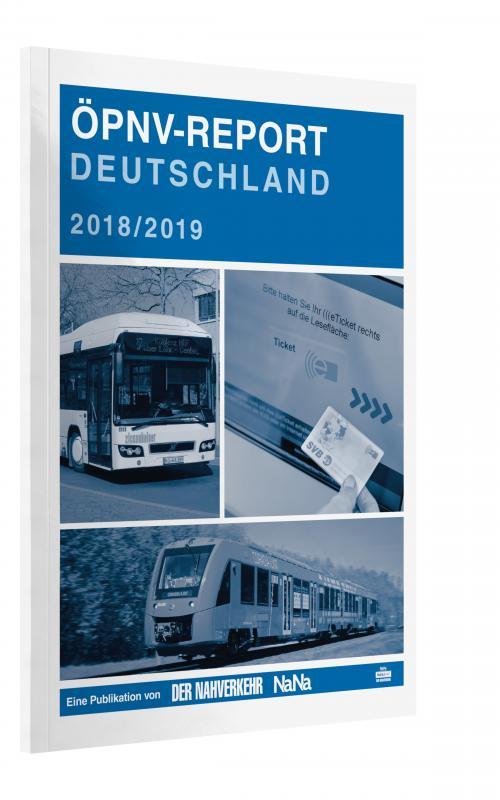 Cover-Bild ÖPNV-Report 2018/2019
