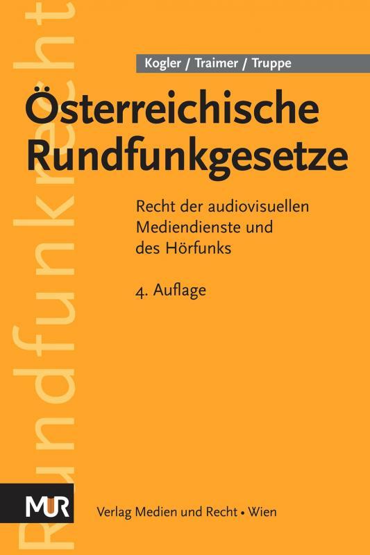 Cover-Bild Österreichische Rundfunkgesetze