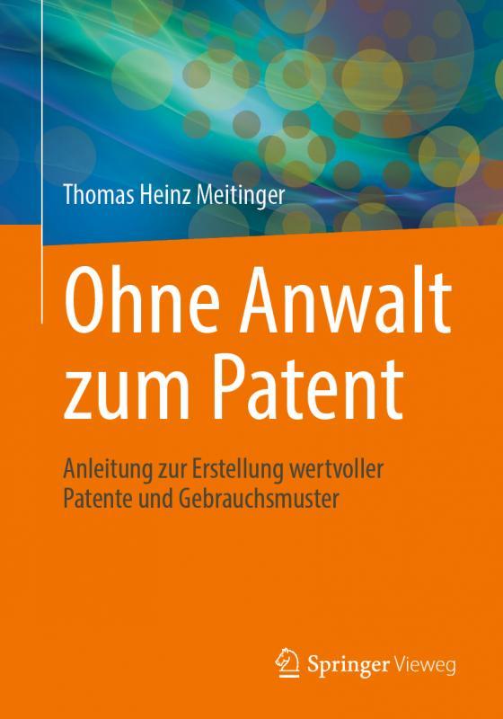 Cover-Bild Ohne Anwalt zum Patent
