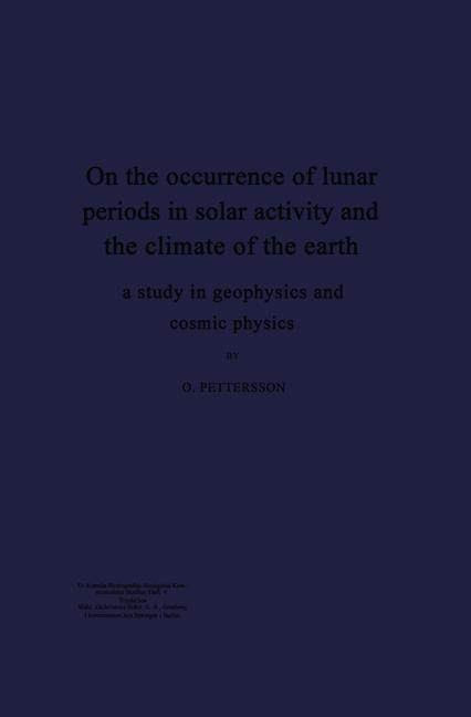 Cover-Bild On the occurrence of lunar periods in solar activity and the climate of the earth