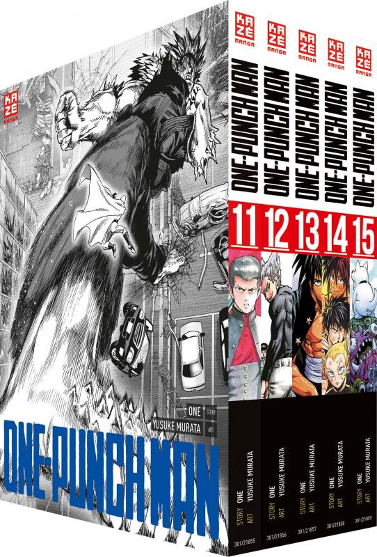 Cover-Bild ONE-PUNCH MAN - Box mit Band 11-15
