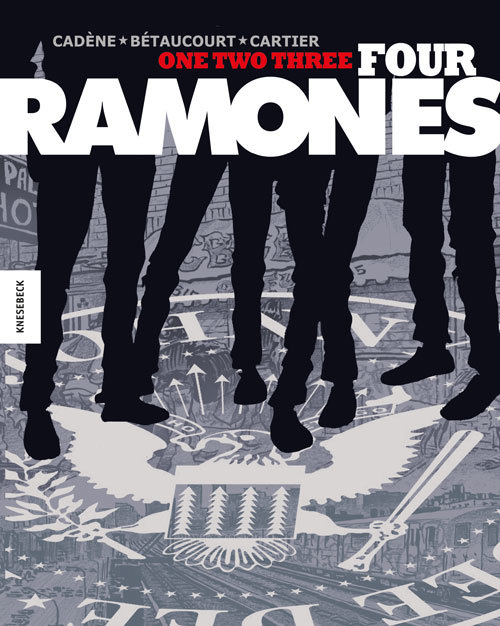 Cover-Bild One, Two, Three, Four, Ramones!
