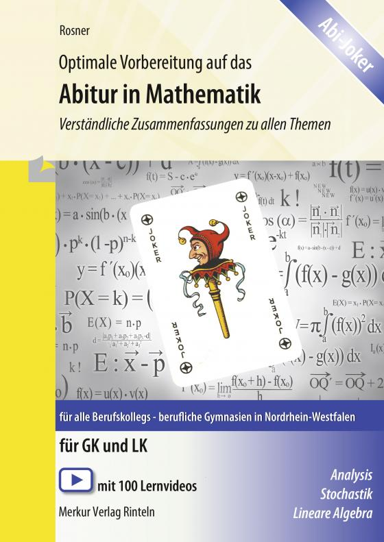 Cover-Bild Optimale Vorbereitung auf das Abitur in Mathematik