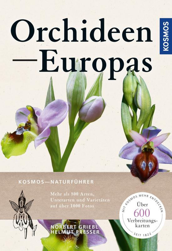 Cover-Bild Orchideen Europas