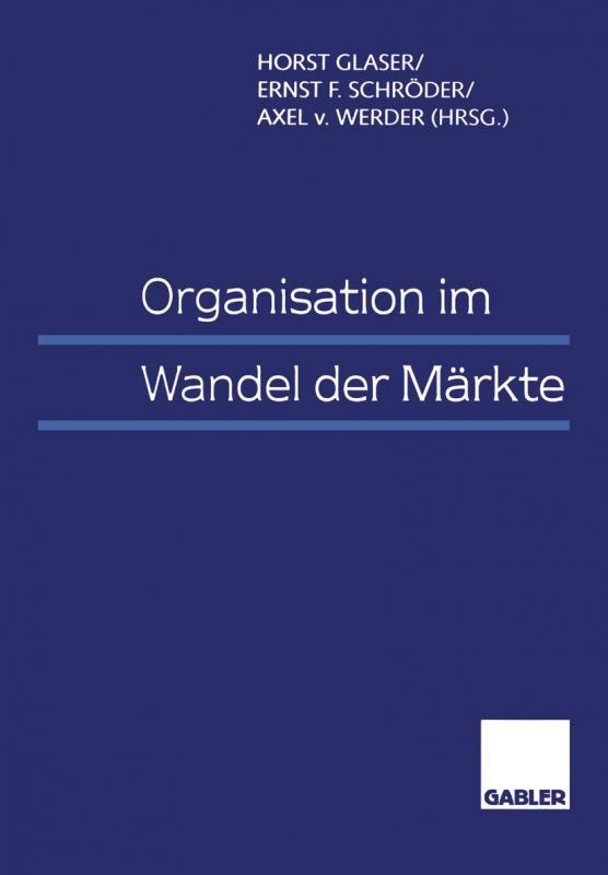 Cover-Bild Organisation im Wandel der Märkte