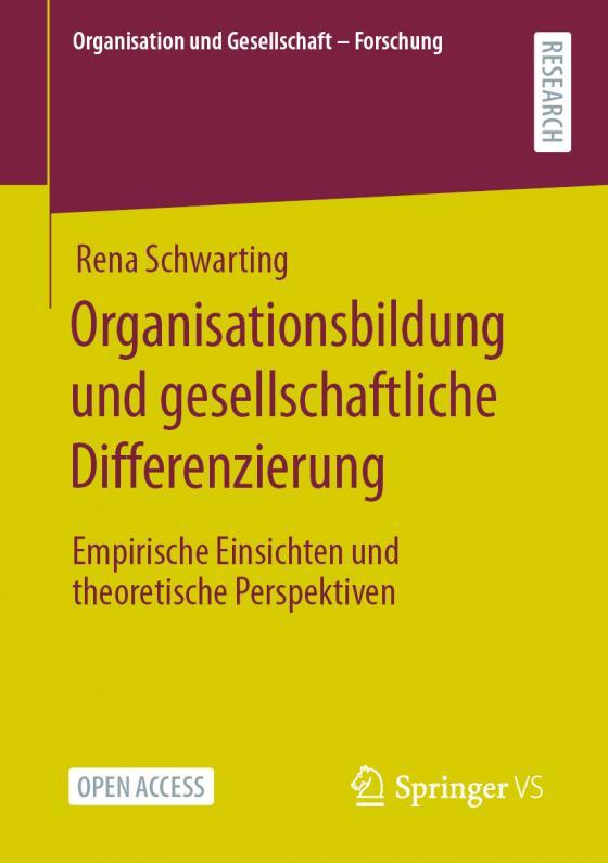 Cover-Bild Organisationsbildung und gesellschaftliche Differenzierung